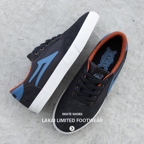 New fall collection from Lakai Limited Footwear. Skateboard shoes, footwear and sneakers - Shop and buy now at Streetmachine.