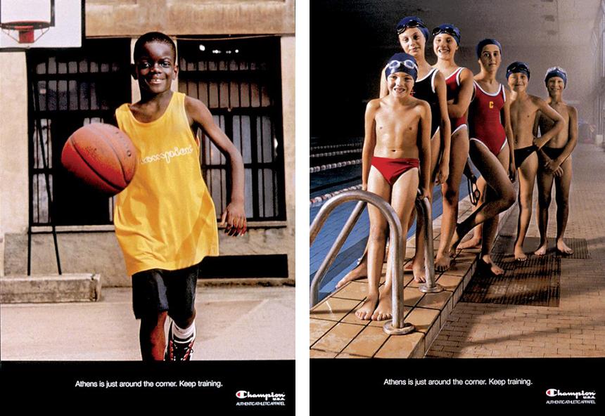 Champion Vintage Adverts - Shop Champion USA Athletic Sportswear at Streetmachine Copenhagen