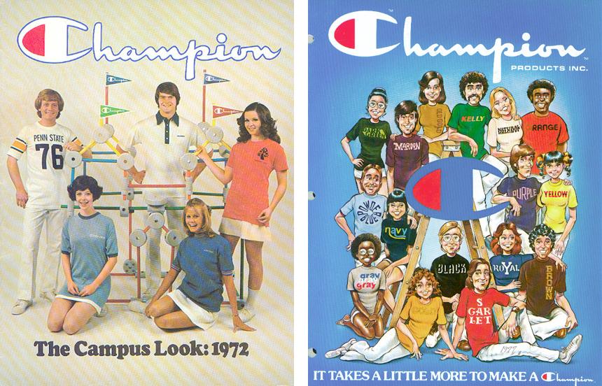 Champion Vintage Adverts - Shop Champion Euerope Authentic Athletic Wear at Streetmachine Copenhagen