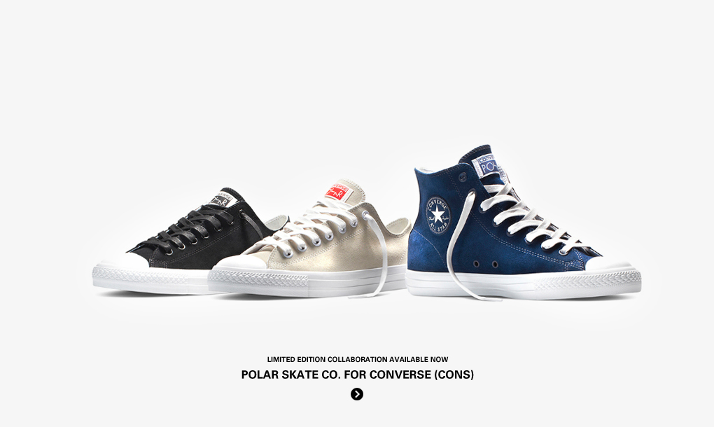 Streetmachine - CONVERSE (CONS) x POLAR SKATE CO. (PONTUS ALV) - Buy now from Streetmachine.com | Worldwide shipping