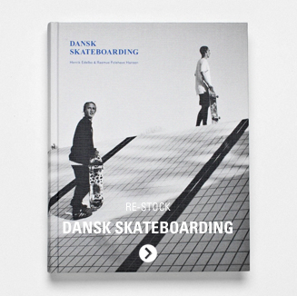 Dansk Skateboarding Book - Shop now. Skate history of Copenhagen and Denmark Skateboarding