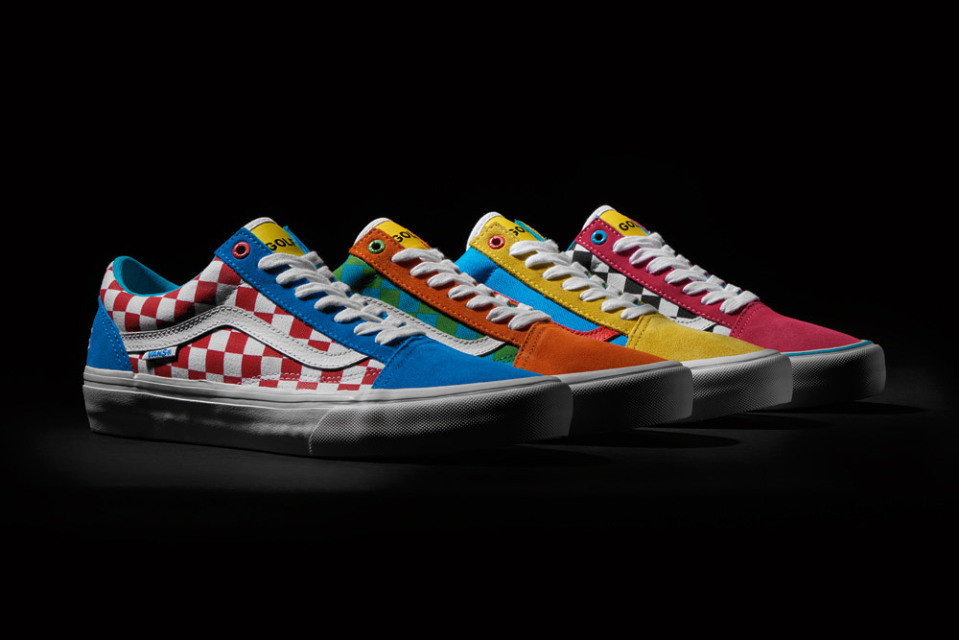 GOLF WANG x VANS PRO CLASSICS (OLD SKOOL PACK)
