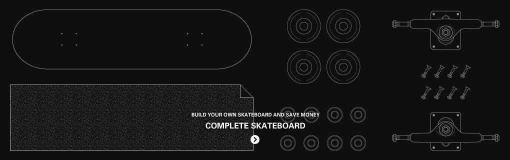 STREETMACHINE COMPLETE SKATEBOARD - Saml dit eget skateboard og spar penge. Komplet board hos Street Machine