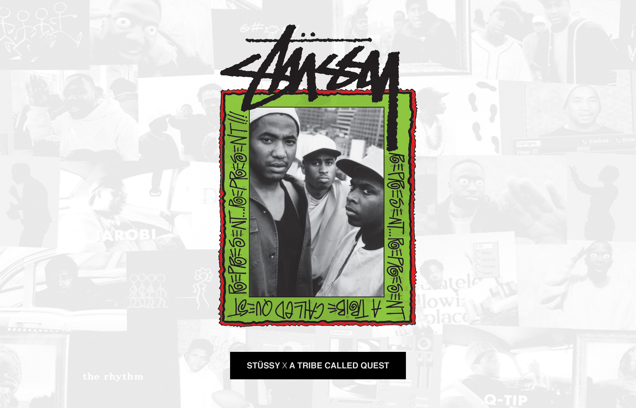 STÜSSY X A TRIBE CALLED QUEST COLLECTION - SHOP NOW AT STREETMACHINE!