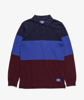 Quartersnacks for Street Machine L/S Block Polo