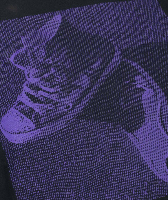 Converse - LS Cons Purple Tee