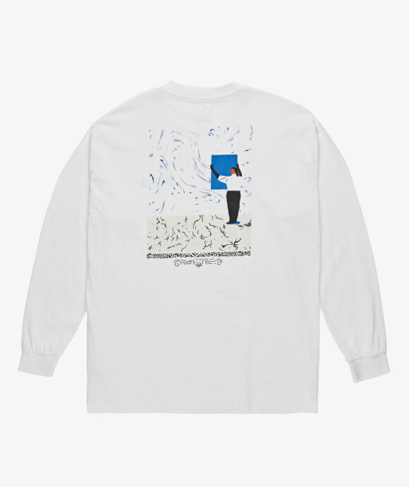 Polar Skate Co. - LS Hanging A Painting Tee