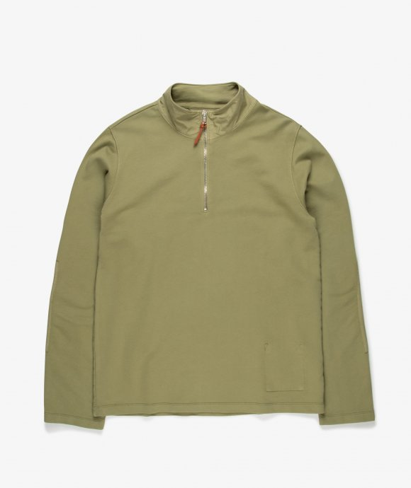 Albam - Zipped Jersey Pullover