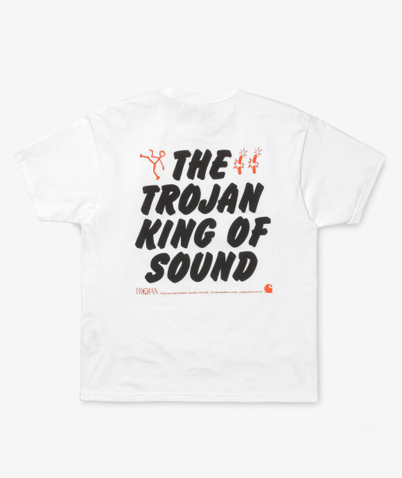 Carhartt WIP - SS Trojan King Of Sound Tee