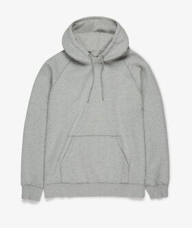 Streetmachine - Heavyweight Hooded Sweatshirt (Heather Grey)