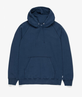 Streetmachine - Heavyweight Hooded Sweatshirt (Bkue Wing Teal)