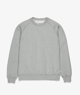 Streetmachine - Heavyweight Crewneck Sweatshirt (Heather Grey)