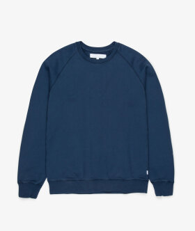Streetmachine - Heavyweight Crewneck Sweatshirt (Blue Wing Teal)