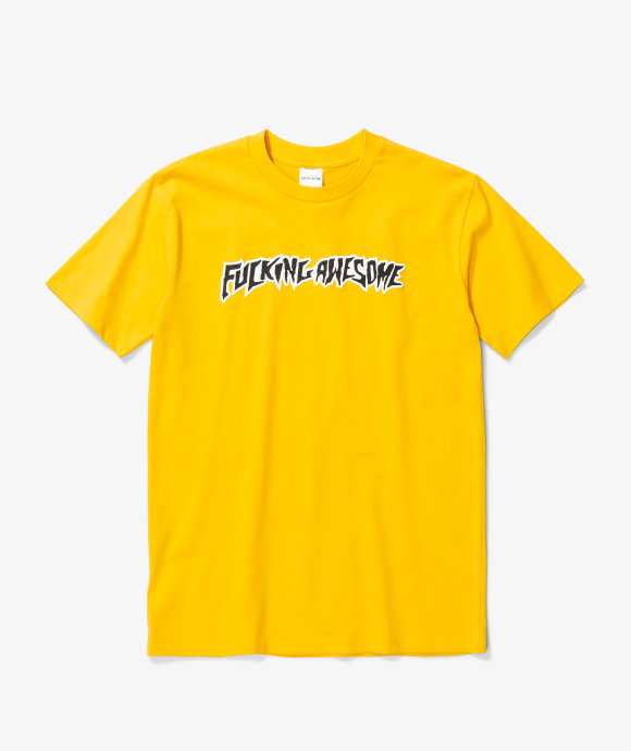 Fucking Awesome - Puff Outline Logo Tee