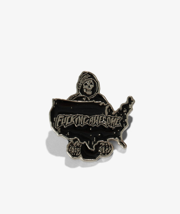 Fucking Awesome - Reaper Pin