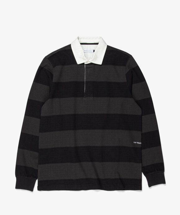 Pop Trading Company - Striped Rugby Polo