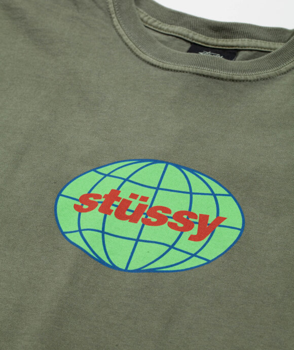 Stussy - Global Pigment Dyed Tee