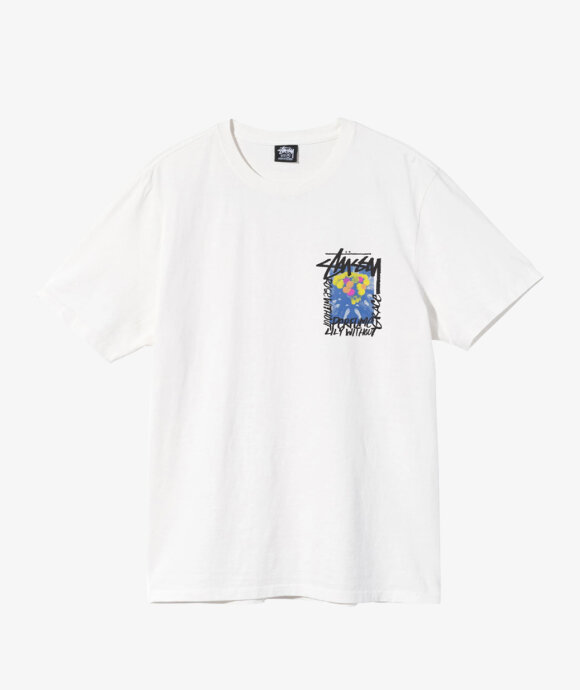 Stussy - Camellias Pig. Dyed Tee