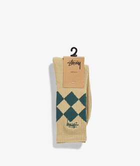 Stussy - Argyle Crew Socks