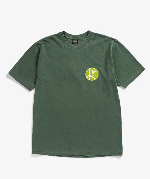 Stussy - Peace Dot Pigment Dyed Tee