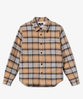 Stussy - Quilted Linen Plaid Shirt
